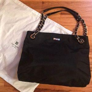 Kate Spade NY Black Nylon Shoulder Bag